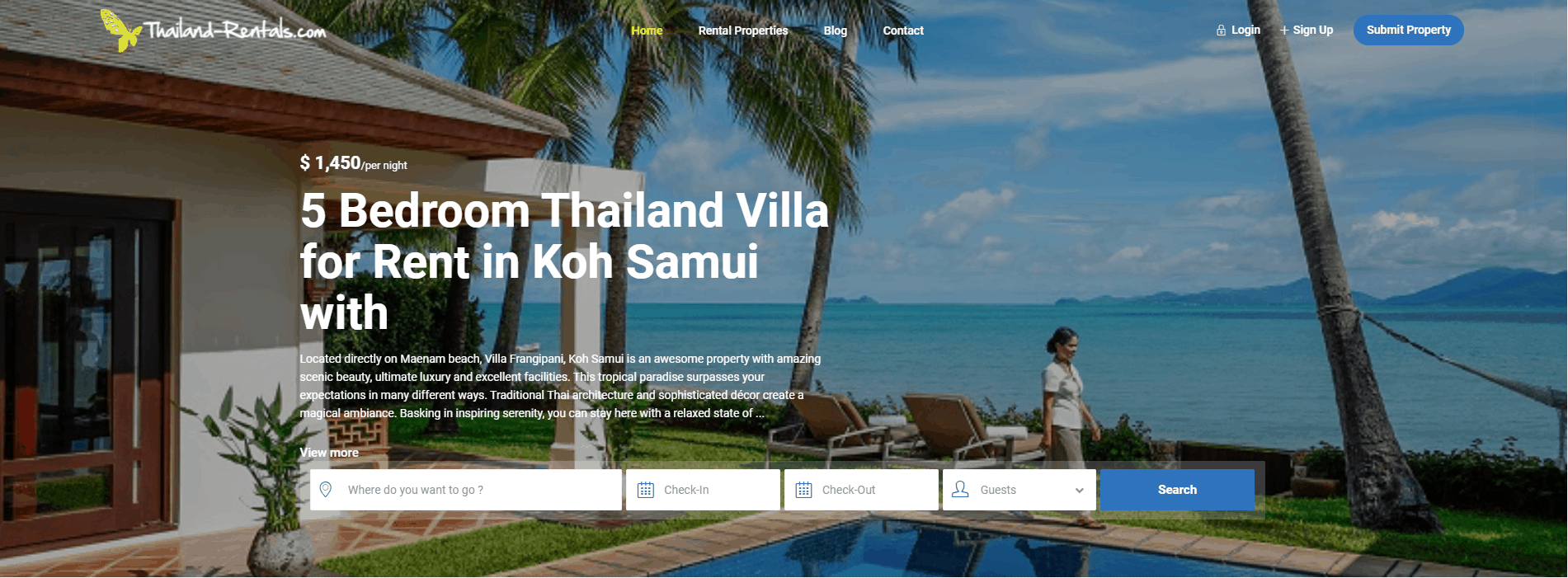 Thailand Rentals - Holiday & Vacation Rental Property in Thailand